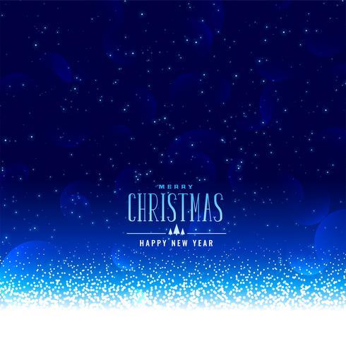 schöner Weihnachtswinter-Schneefallhintergrund mit Textraum