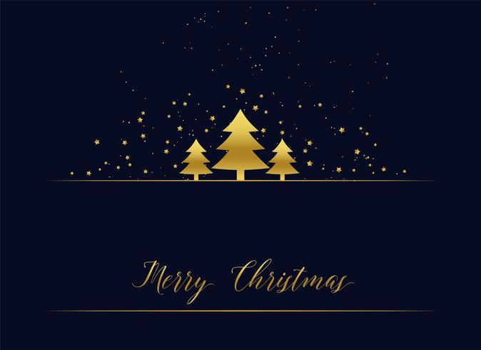 saluto d'oro albero di Natale premium