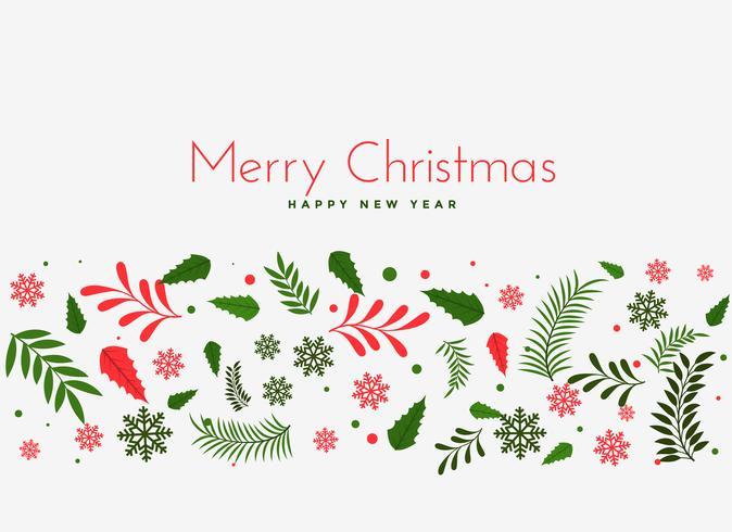 mooie kerst laat decoratie achtergrond
