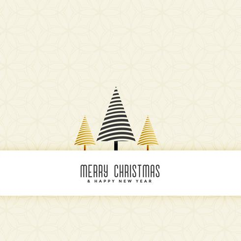 schone kerstboom elegante achtergrond