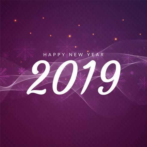 Resumo feliz ano novo 2019 fundo de saudação
