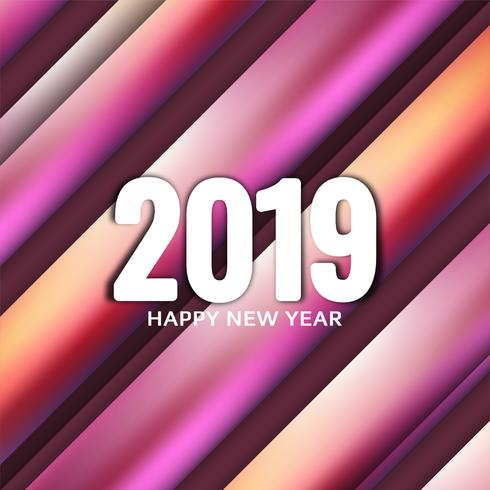 Abstracte Nieuwjaar 2019 viering achtergrond