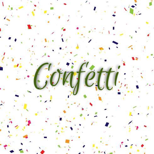 Abstracte kleurrijke confetti decoratieve achtergrond