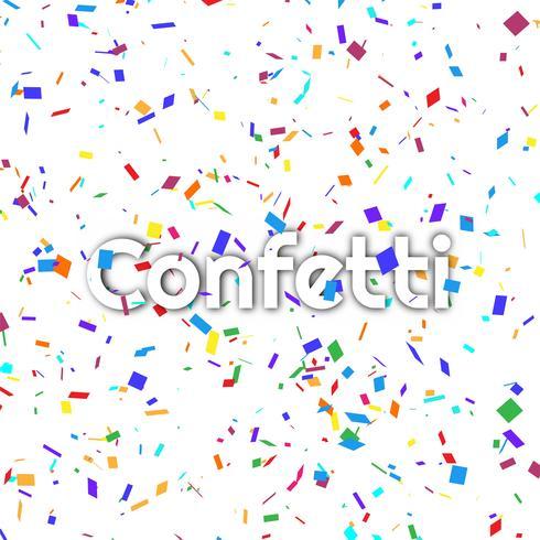 Abstrakt färgrik konfetti bakgrund vektor