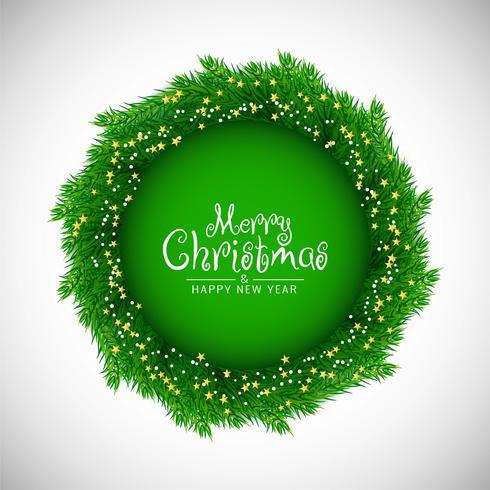 Dekorativer frohe Weihnachten Celebartionhintergrund
