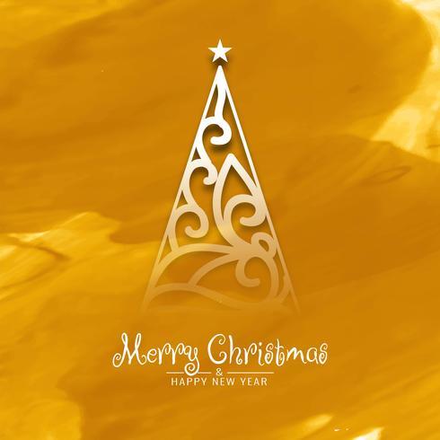 Fondo elegante abstracto feliz celebración de Navidad