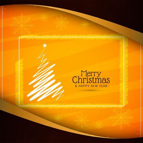 Fondo decorativo abstracto feliz Navidad