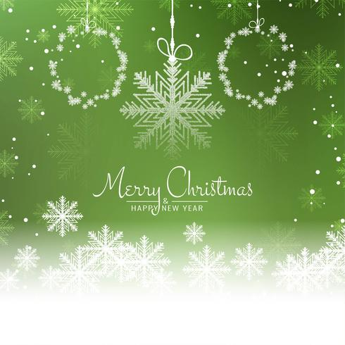 Abstrakter schöner grüner Hintergrund der frohen Weihnachten