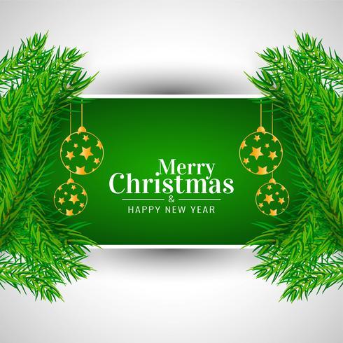 Decoratieve Merry Christmas celebartion achtergrond