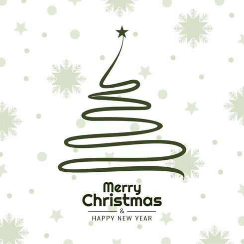 Resumo feliz Natal celebração elegante fundo