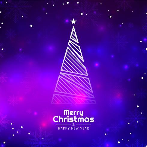 Abstrakter dekorativer eleganter Hintergrund der frohen Weihnachten