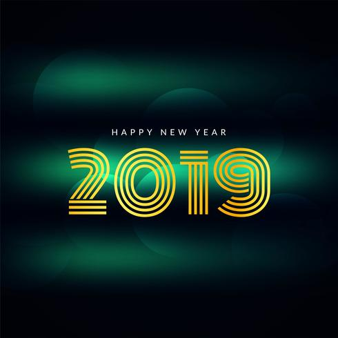 Abstrakter guten Rutsch ins Neue Jahr-Grußhintergrund 2019