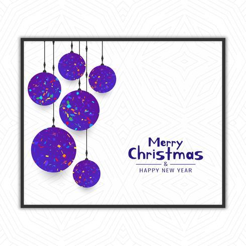 Festival-Feierhintergrund der frohen Weihnachten