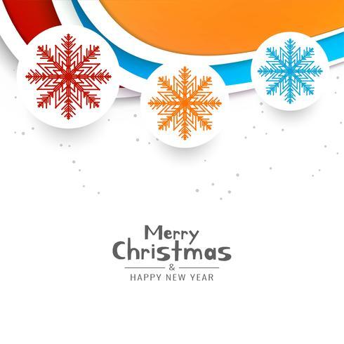 Abstrait joyeux Noël festival voeux