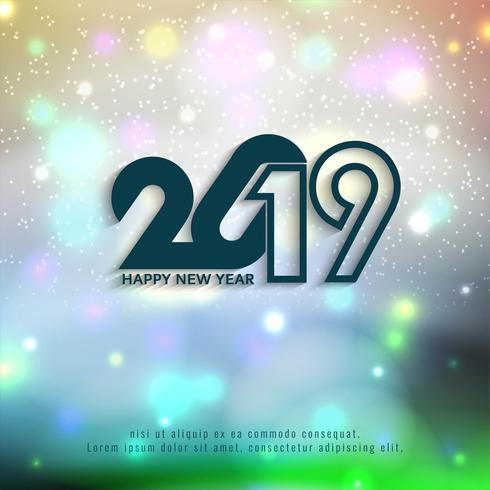Schöner guten Rutsch ins Neue Jahr-Hintergrund 2019