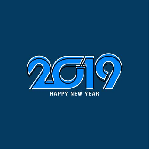 Abstrakter guten Rutsch ins Neue Jahr-Hintergrund 2019