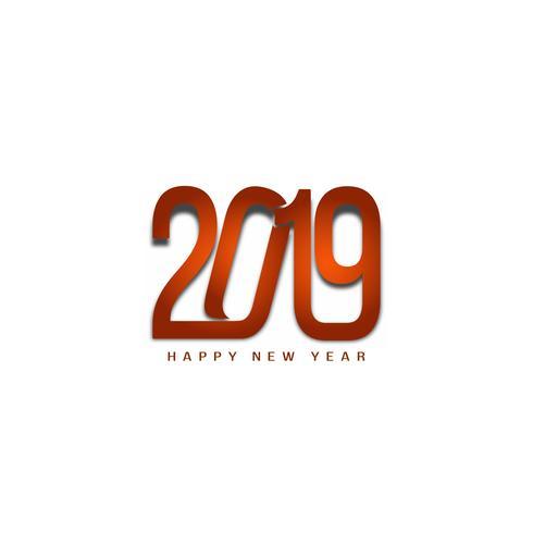 Eleganter Hintergrund des abstrakten guten Rutsch ins Neue Jahr 2019