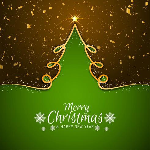 Eleganter Grußhintergrund der frohen Weihnachten