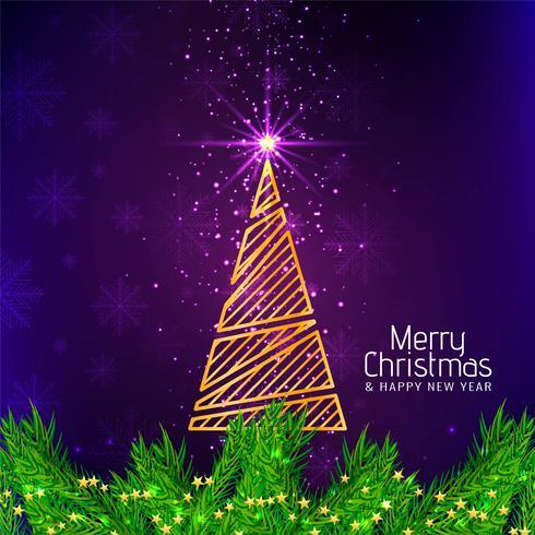 Eleganter dekorativer Hintergrund der frohen Weihnachten