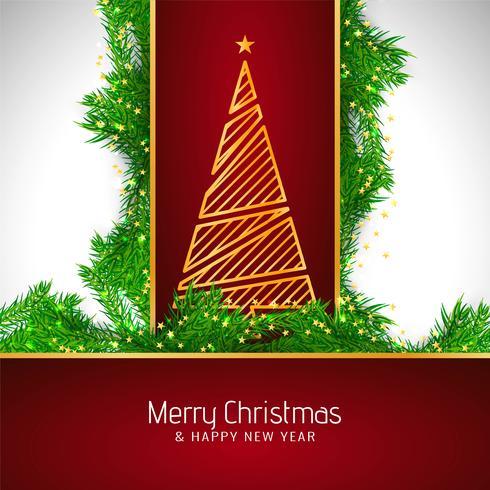Abstrakt Merry Christmas vacker fest bakgrund