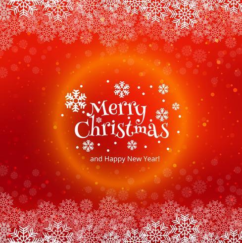 Schöner Feierkartenhintergrund der frohen Weihnachten