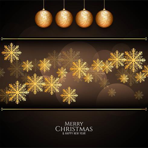 Fondo de saludo festival de feliz Navidad abstracto vector