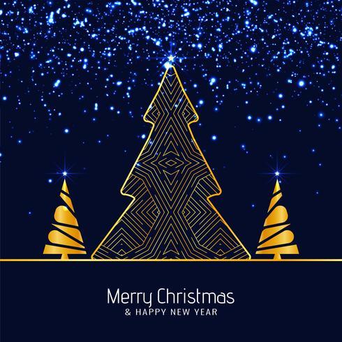Abstrakter froher Weihnachten funkelt Hintergrund
