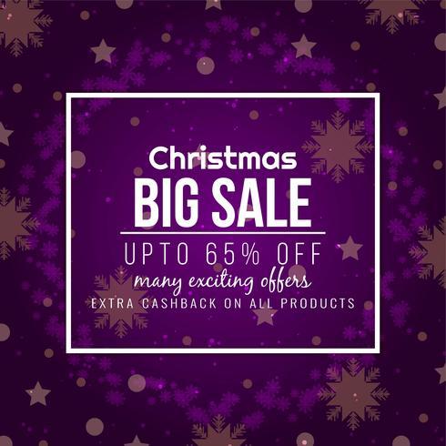 Elegant Merry Christmas grote verkoop achtergrond