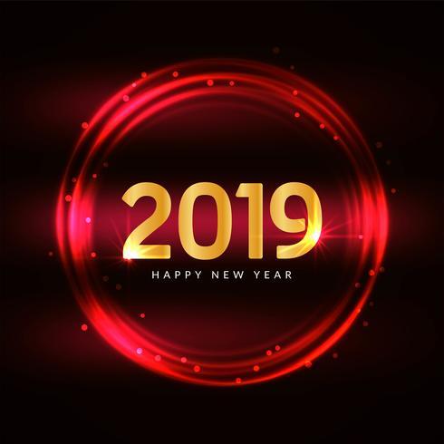 Gott nytt år 2019 modern bakgrund