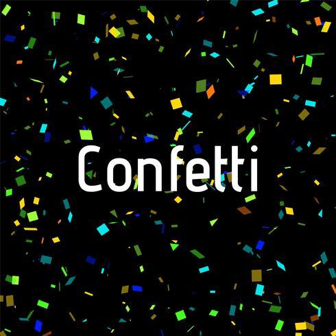 Fundo abstrato decorativo colorido confete