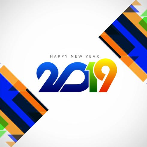Vackert Gott Nytt År 2019 Bakgrund