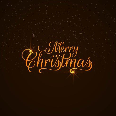 Abstrakt Merry Christmas text design bakgrund
