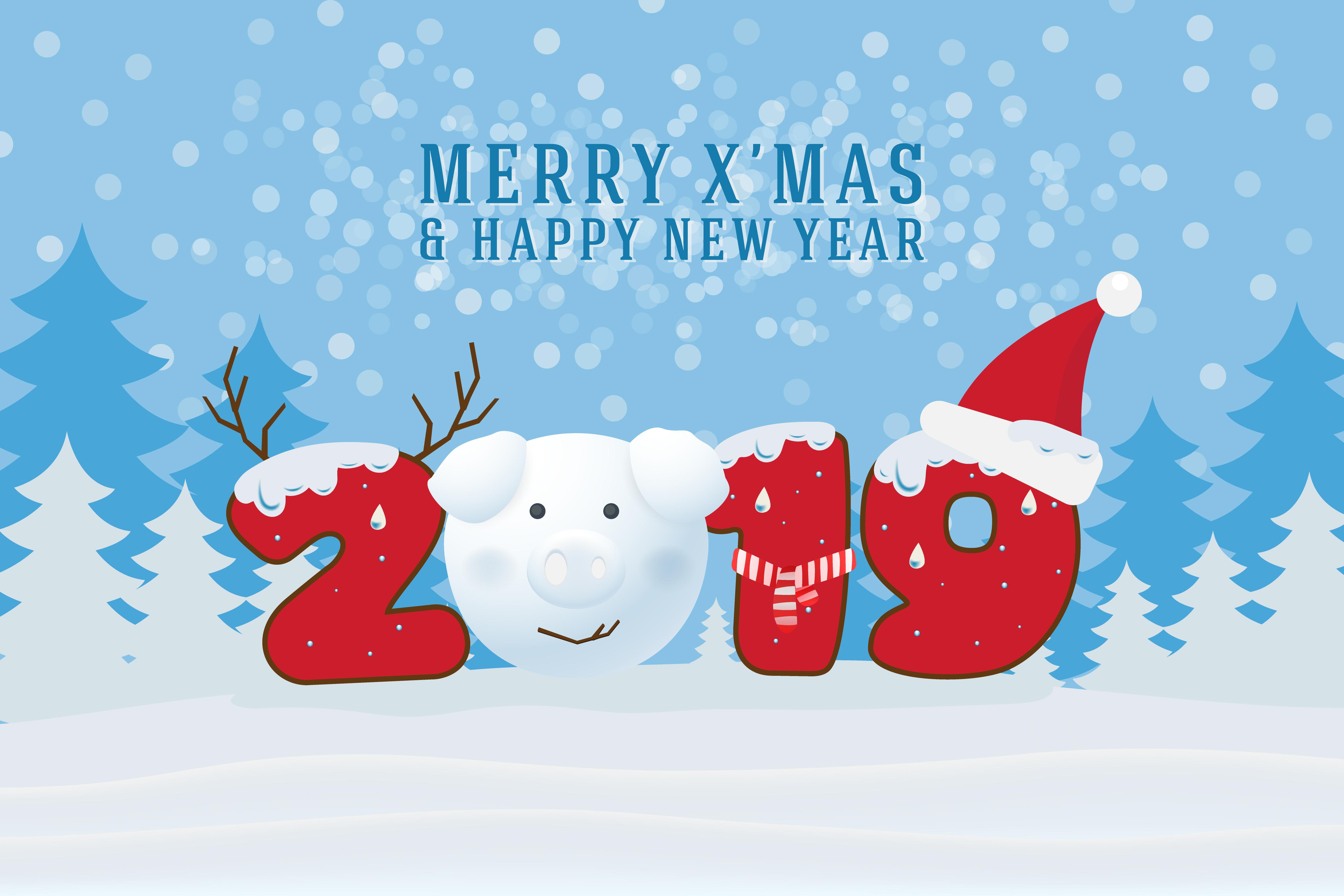Weihnachtskarten 2019