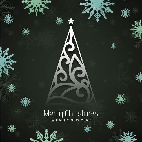 Stilfull god julfestival hälsning bakgrund