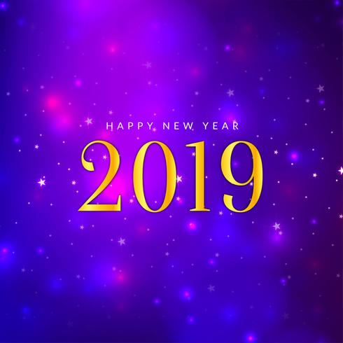 Abstrakt Gott nytt år 2019 stilig bakgrund