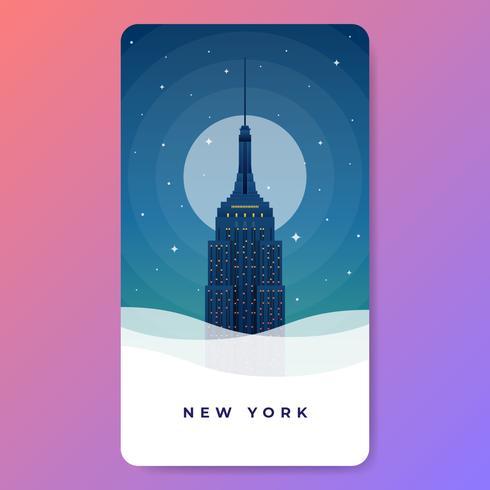 Illustrazione di vettore di New York Freedom Tower New York del World Trade Center