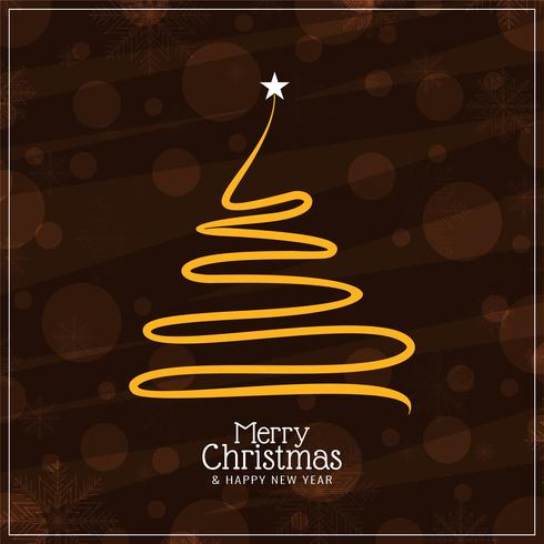 Abstrakt Glad jul dekorativ bakgrund