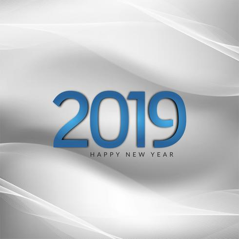 Abstracte Nieuwjaar 2019 mooie achtergrond