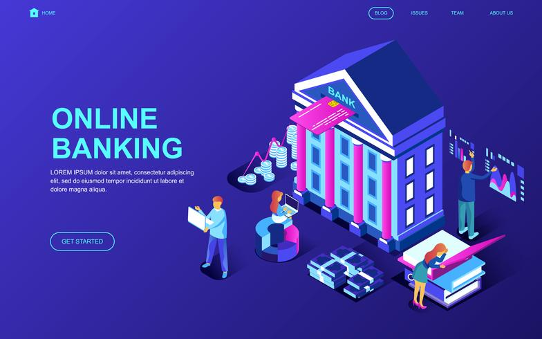 Banner Web di banking online