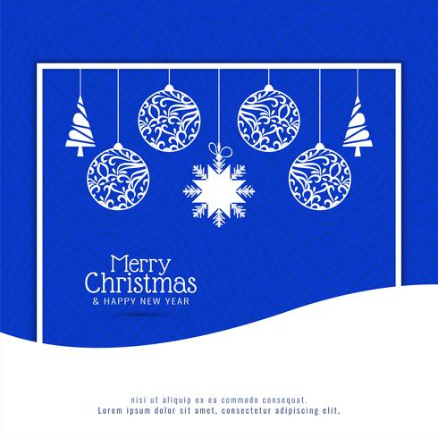 Abstracte Merry Christmas festival viering achtergrond