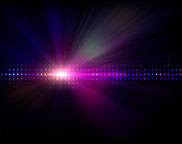 Abstract background with led display