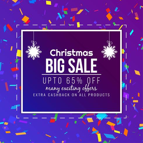 Abstrakt Merry Christmas stor försäljning bakgrund