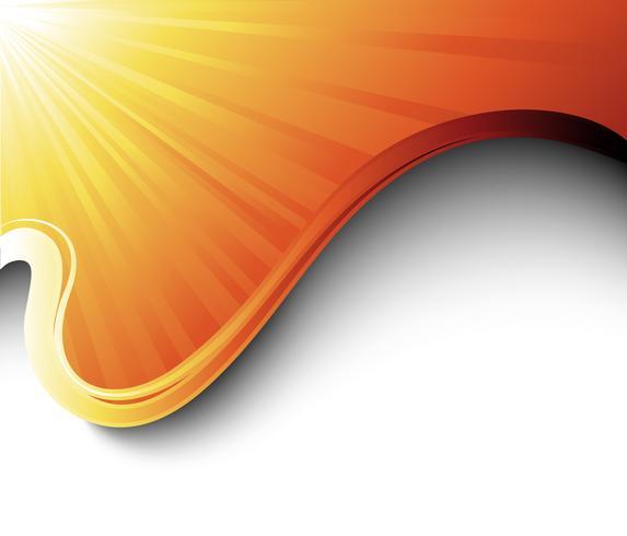 Solstrålar och vågor