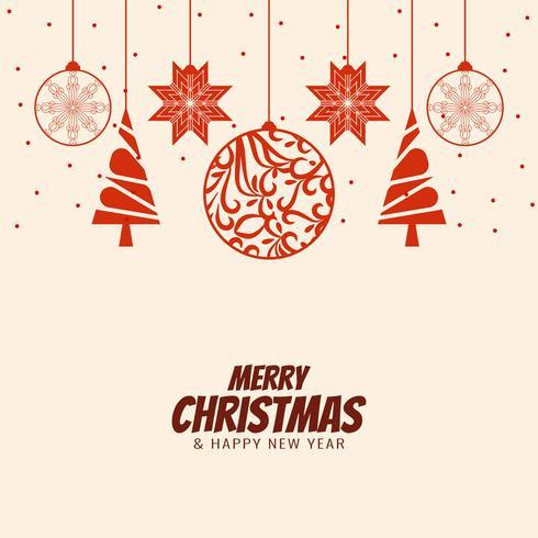 Fundo de saudação de celebração abstrata feliz Natal