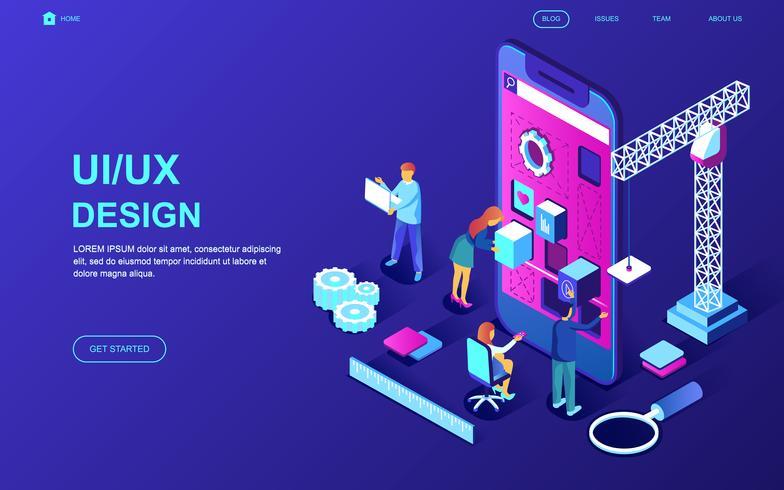 Banner Web di progettazione UI