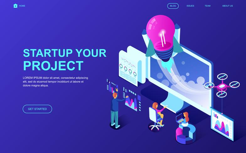 Startup Your Project Web Banner