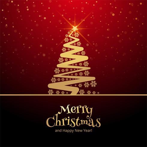 Bello fondo della carta di celebrazione di Buon Natale