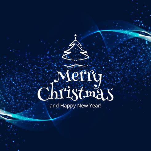 Bello fondo variopinto della carta di celebrazione di Buon Natale
