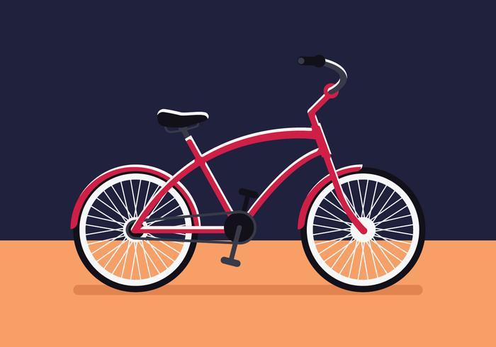 Ilustración de bicicleta