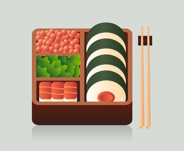 Bento Box Ilustração